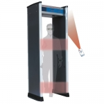 Walkthrough metal detector